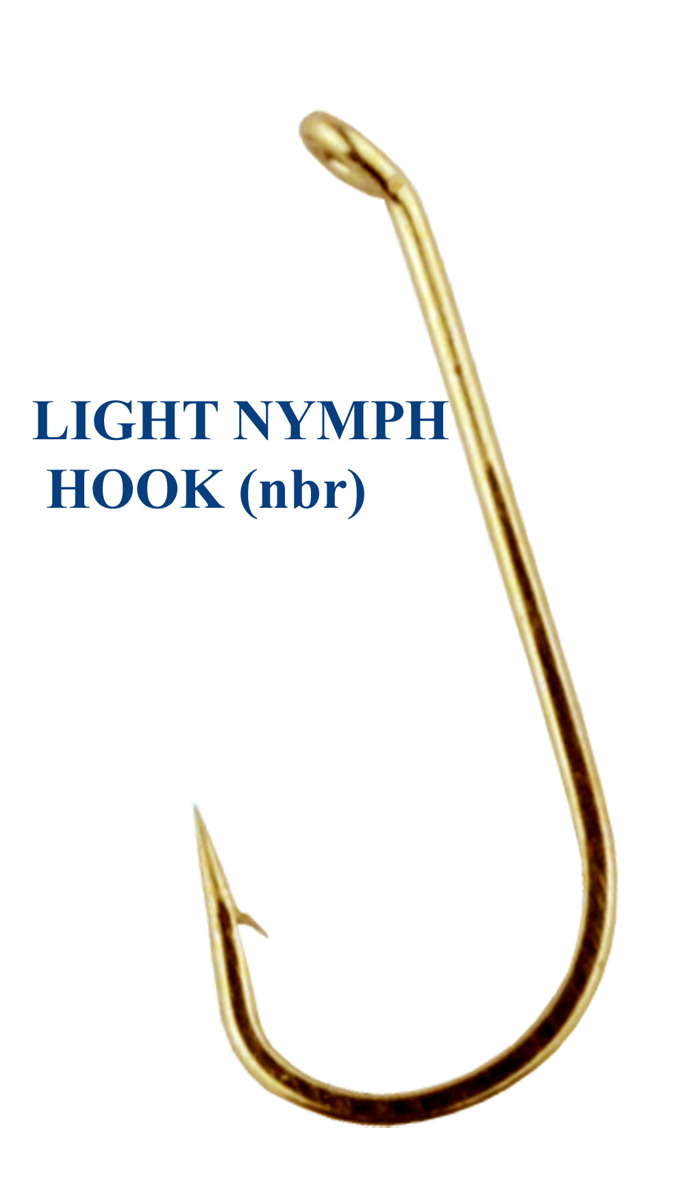 LIGHT NYMPH HOOK (nbr)