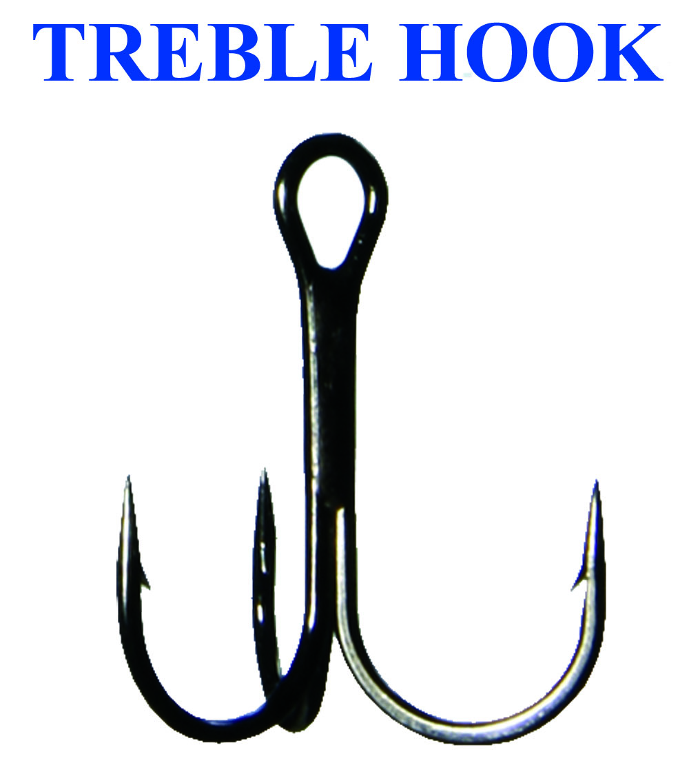 TREBLE HOOK (10)