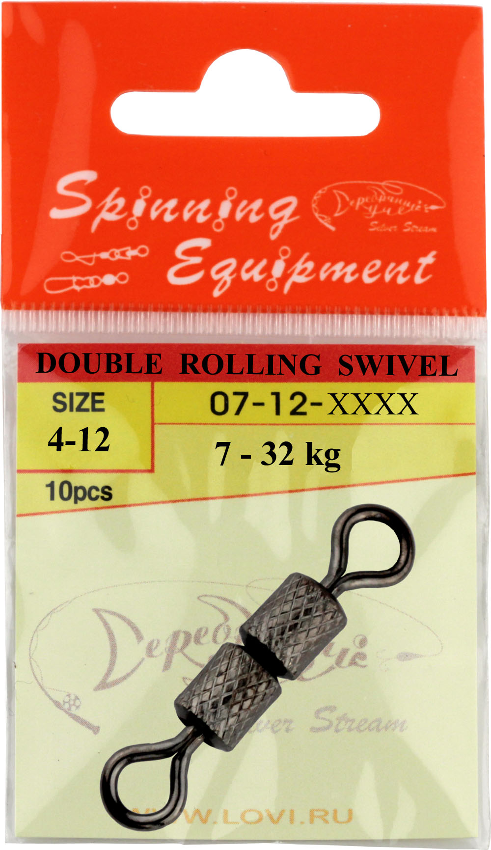 Вертлюжок DOUBLE ROLLING SWIVEL