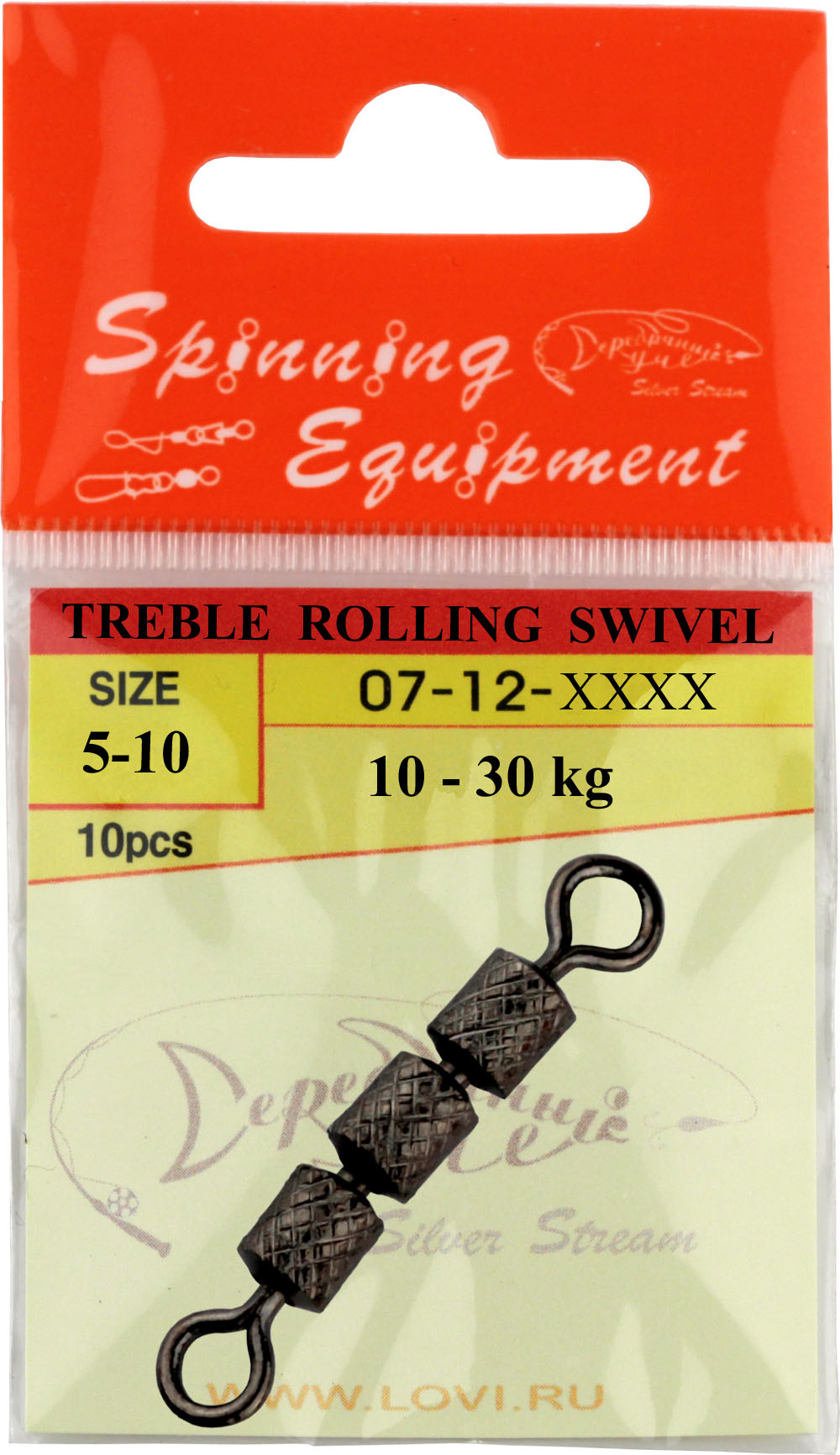 Вертлюжок TREBLE ROLLING SWIVEL